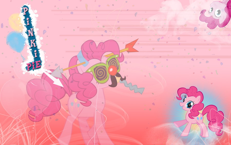 FiM: Pinkie Pie Wallpaper by M24Designs