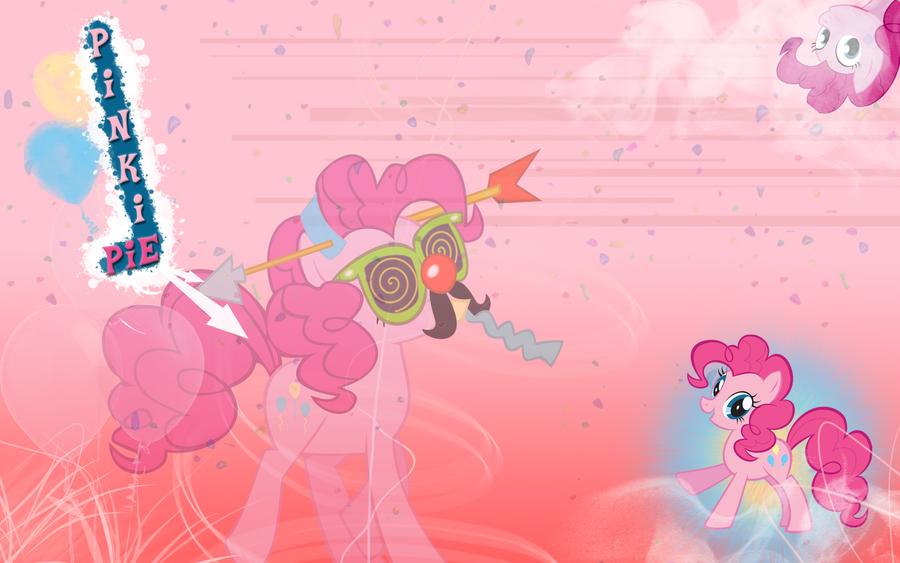 FiM: Pinkie Pie Wallpaper by M24Designs