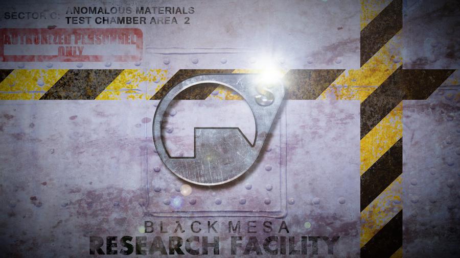 Black Mesa Wallpaper by M24Designs