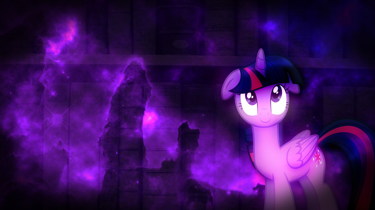 FiM Twilight Sparkle Wallpaper Requested By M24Designs