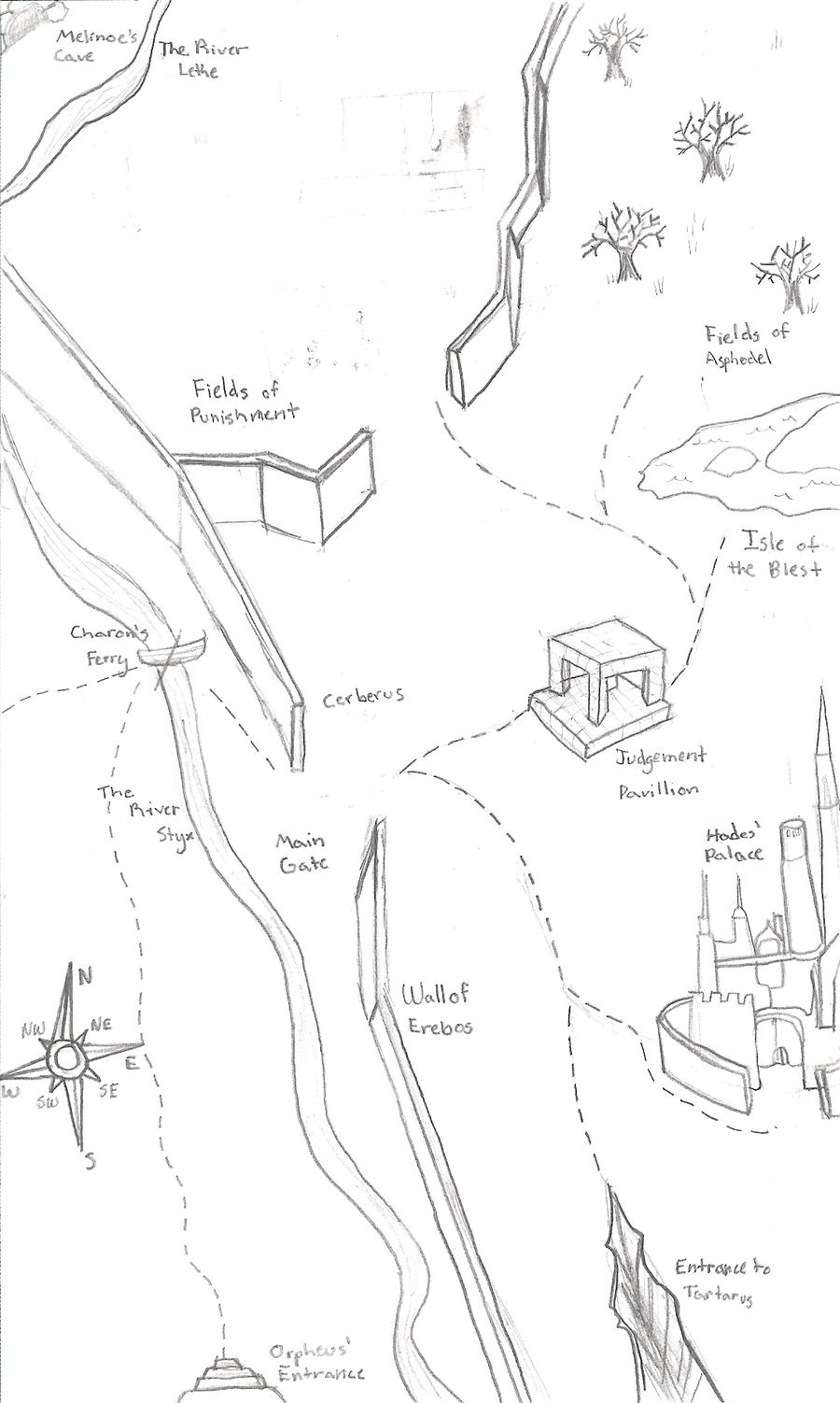 Map of The Underworld by FlameFireheart on DeviantArt