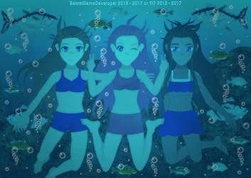 [FAN ART] Shaya, Lana and Kiri