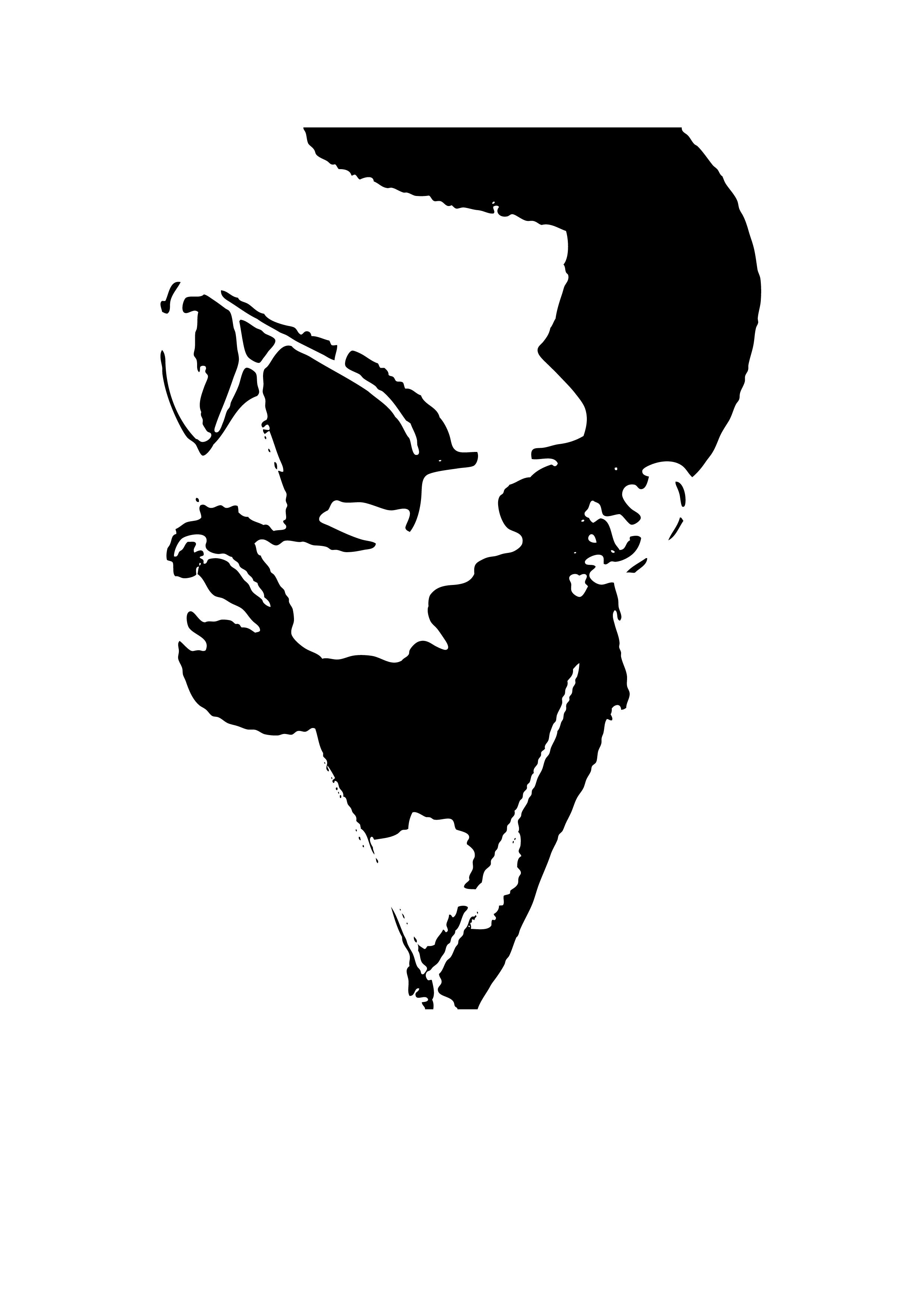 Kanye West: STENCIL by Hoaders