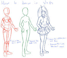 how to draw anime and manga in steps