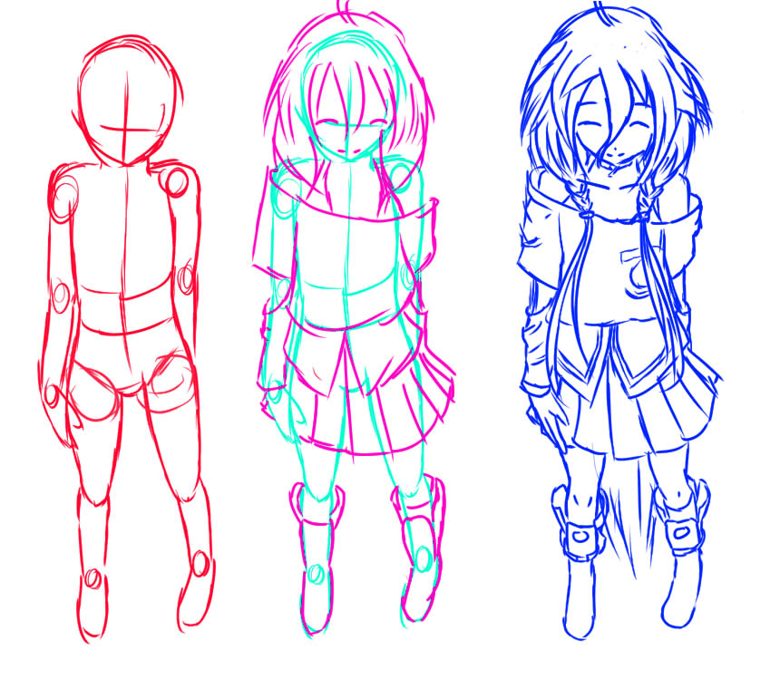 Anime Characters Drawing : Everything drawing on pinterest anime poses pose