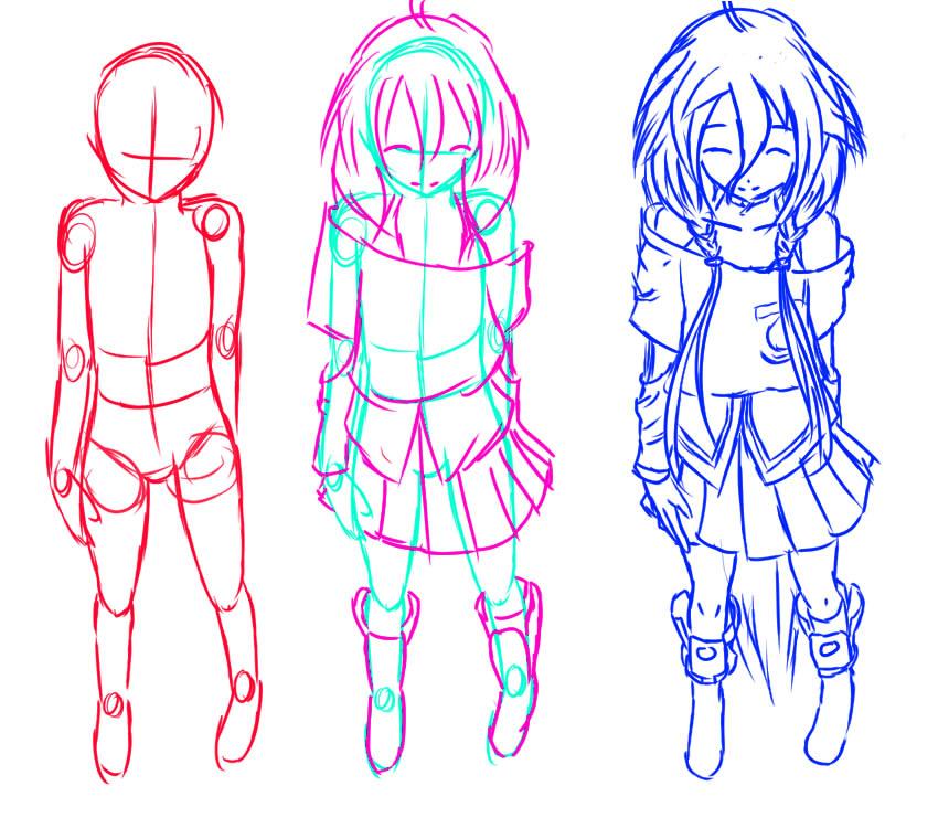 how to draw anime and manga: