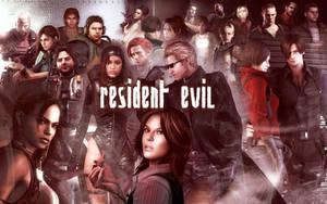 Resident Evil Characters Wallpaper by Yokoylebirisi