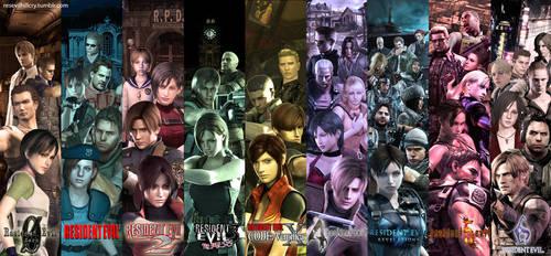 Resident Evil Series by Yokoylebirisi