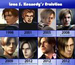 Leon Scott Kennedy's Evolution