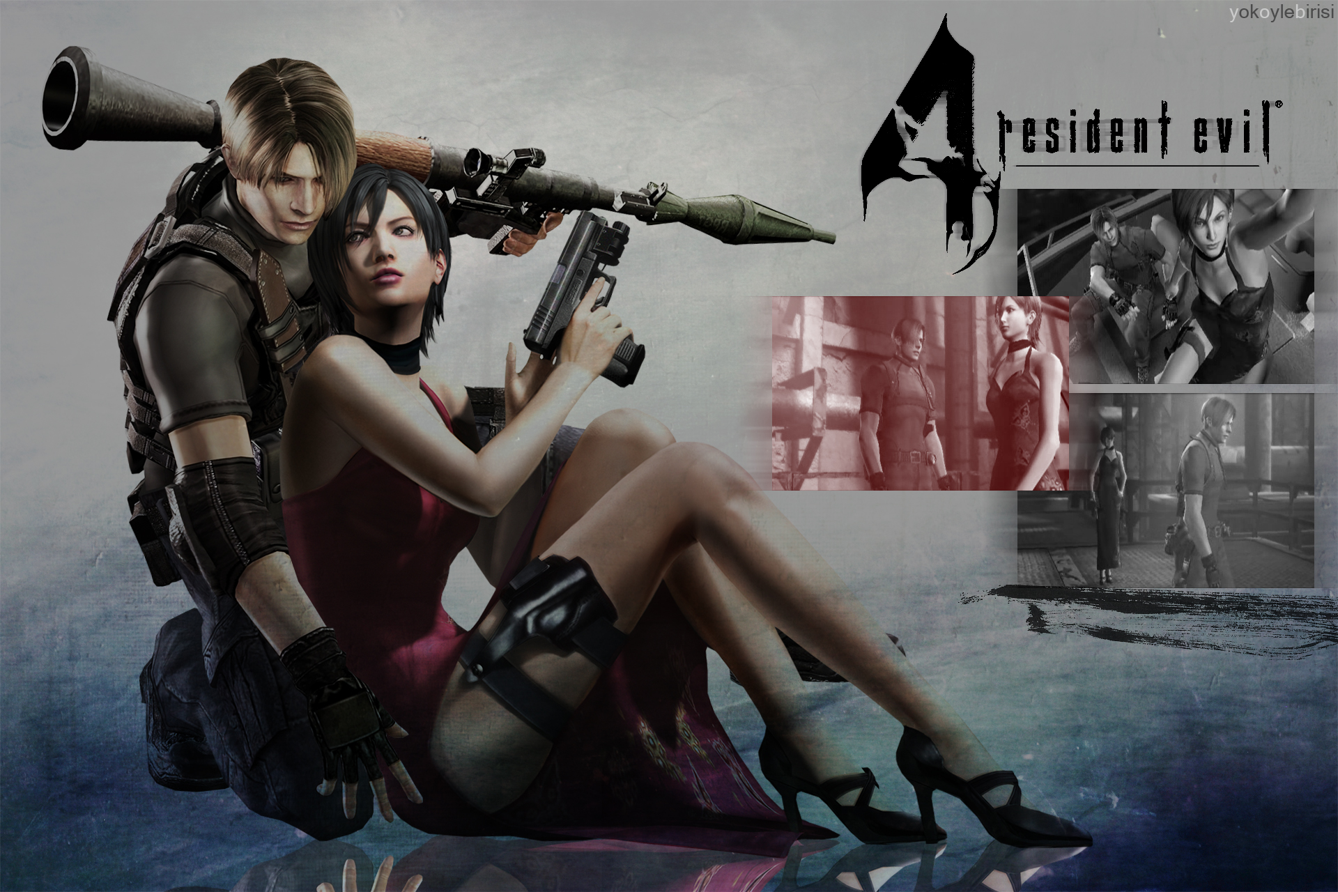 Resident Evil 4 Ada Leon Wallpaper 11 By Yokoylebirisi On Deviantart