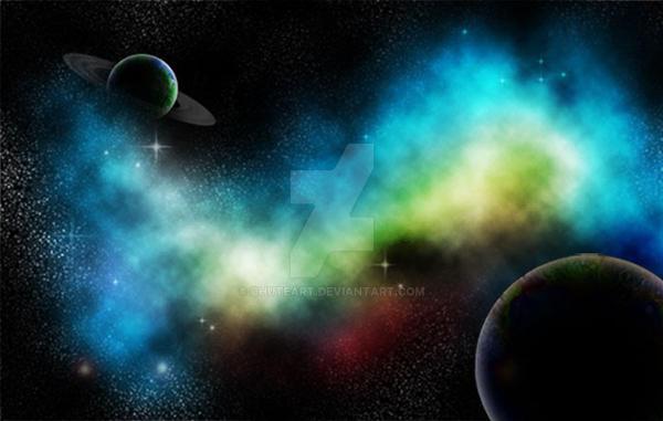 Galaxy xD by chuteart