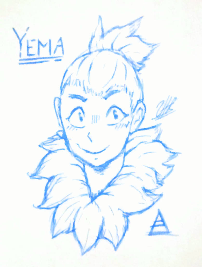 Yema Sketch by ShaeeArchoree