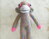Sock Monkey Amigurumi by Woollycritters