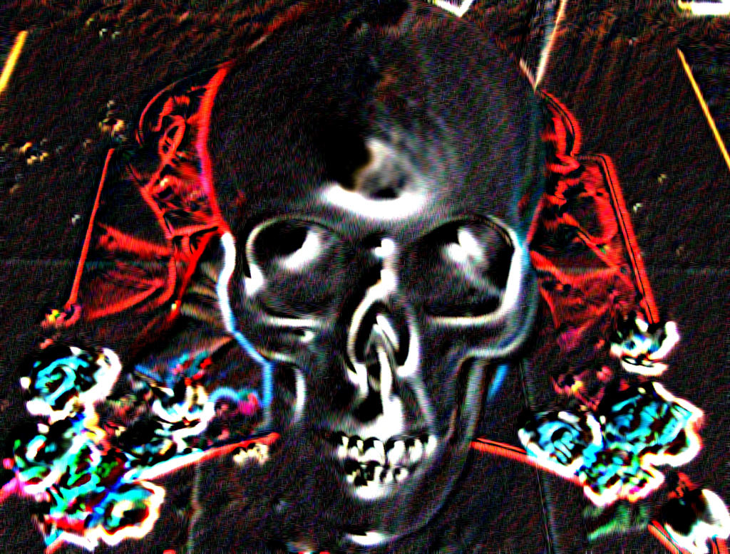 Skullneon by banjosandwitch