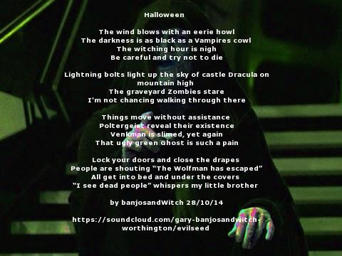 Darksidepoemhalloween by banjosandwitch