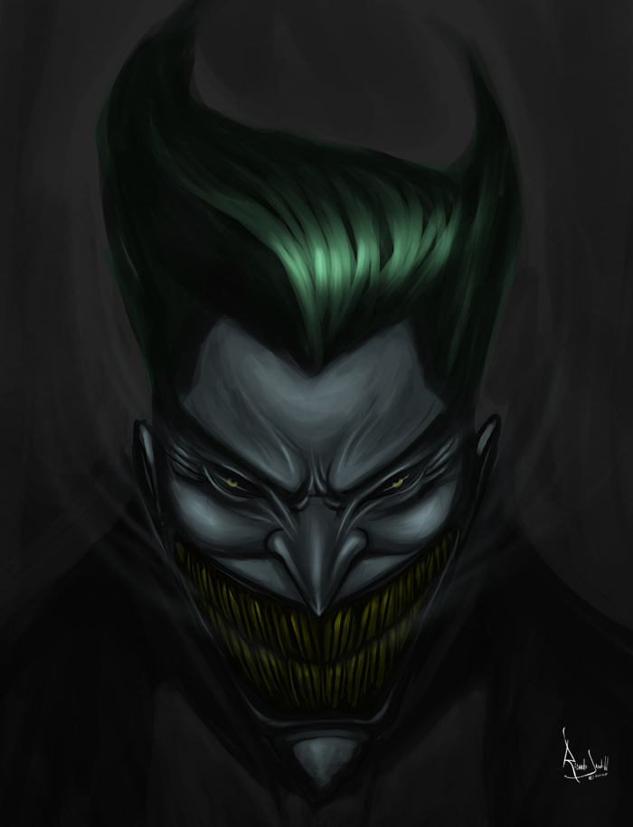 Joker by cyberunique