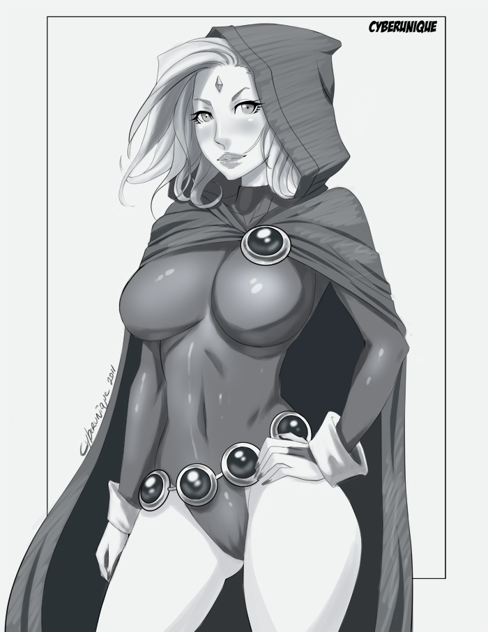 Teen Titan Raven by cyberunique
