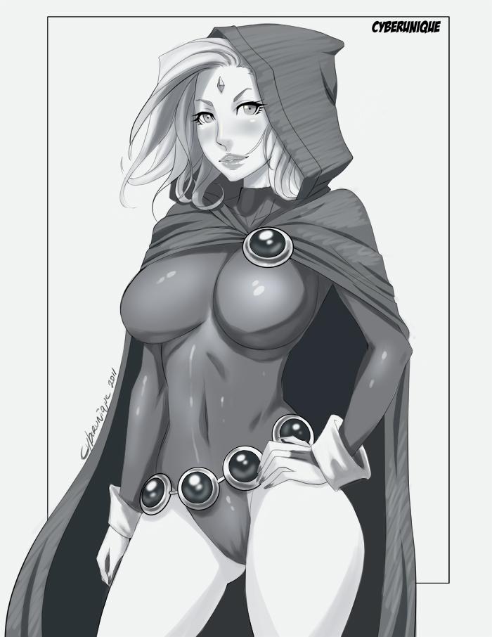 Teen Titan Raven by cyberunique