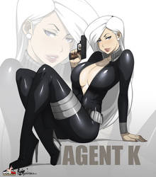 Agent K by cyberunique