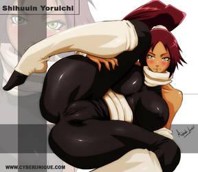 Yoruichi by cyberunique