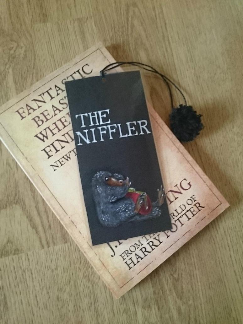 Niffler bookmark by THfreaken