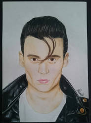 Johnny Depp - Cry Baby by THfreaken