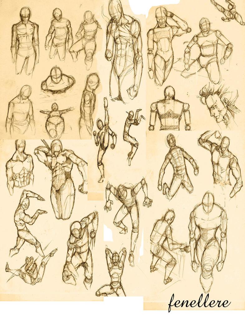Fantage Forum Art Project - Page 2 Sketch_by_harveyfenellere-d54n1az