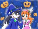 Halloween Klonoa And Lolo Likes