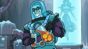 Mr. Freeze in Batmetal Forever