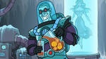 Mr. Freeze in Batmetal Forever