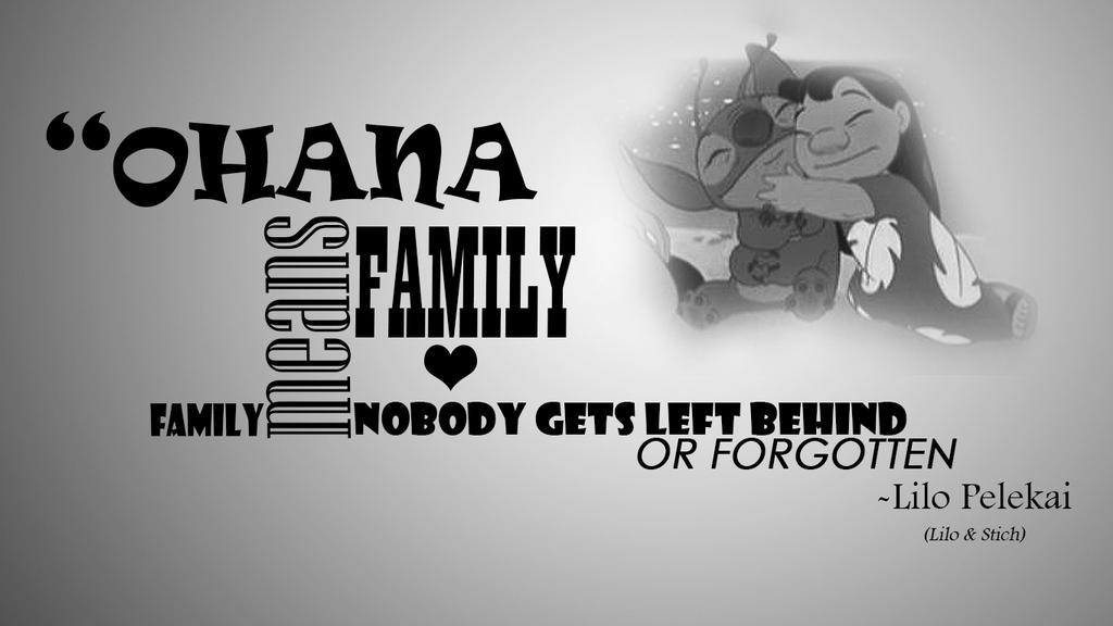 Lilo And Stitch Quotes This Is My Family Lilo and stitch wallpaperLilo And Stitch Quotes