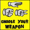 ::CHOOSE YOUR WEAPON:: by mimblewimble