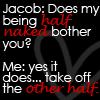 :::Half Naked::: by mimblewimble