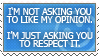 ::Respect:: by mimblewimble