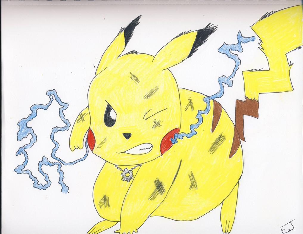 Sgt. Pikachu by Misfortunit