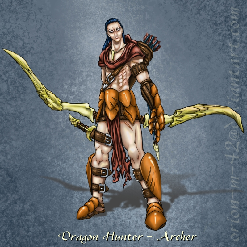 Dragon Hunter - Archer by Orion-M-42 on DeviantArt  Dragon Hunter -...