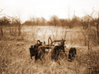Old Plow by subgeek