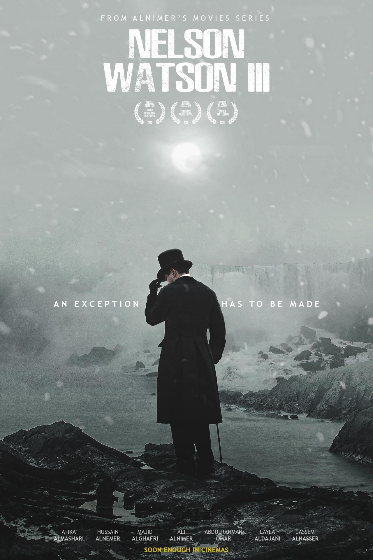 NELSON WATSON III (Imaginary Movie Poster)