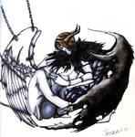 Light Shinigami and L slave