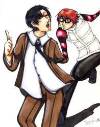 Mat and Matsuda contest by Shimpa-chan