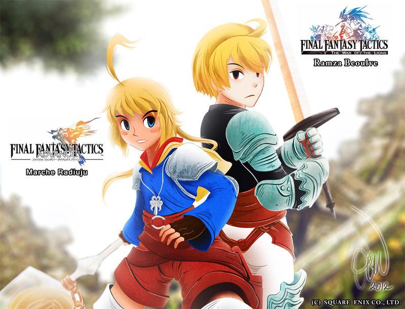Final Fantasy Tactics by alvinsanity