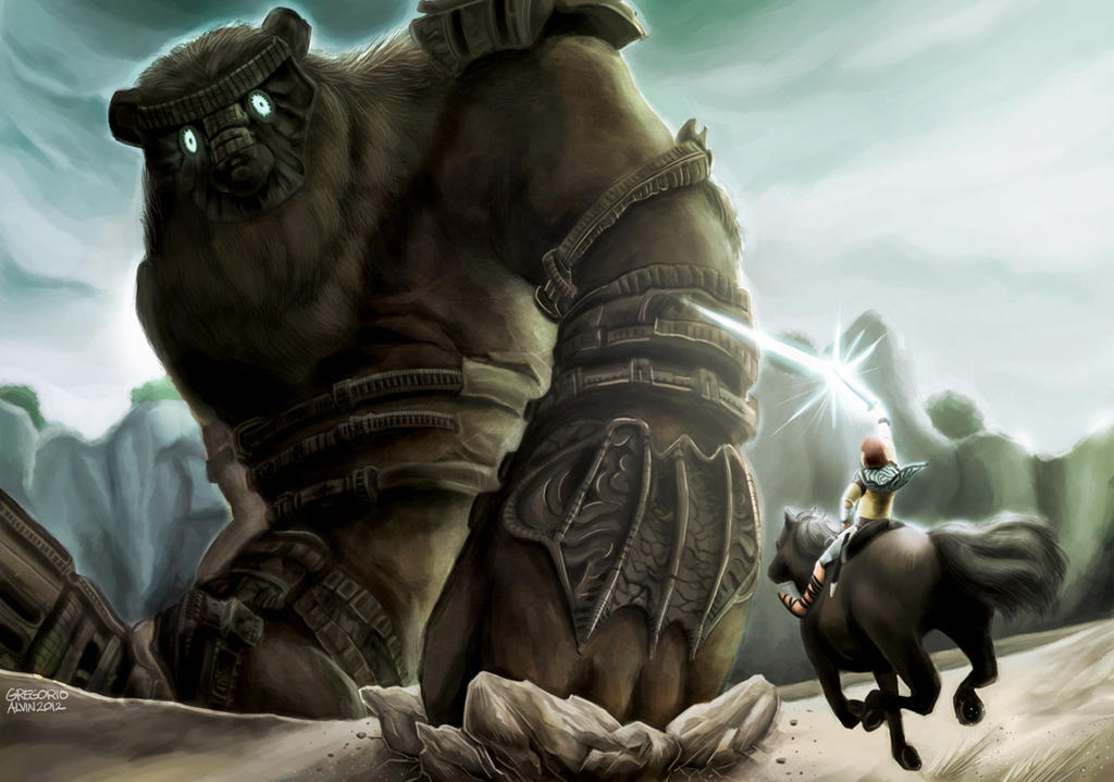 Shadow of the colossus by alvinsanity on deviantart for Shadow of the colossus tattoo