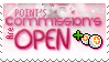:S: P. Commission's OPEN by Hinachuu