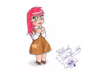 Human Princess Pancake by KilluahSatsujinsha