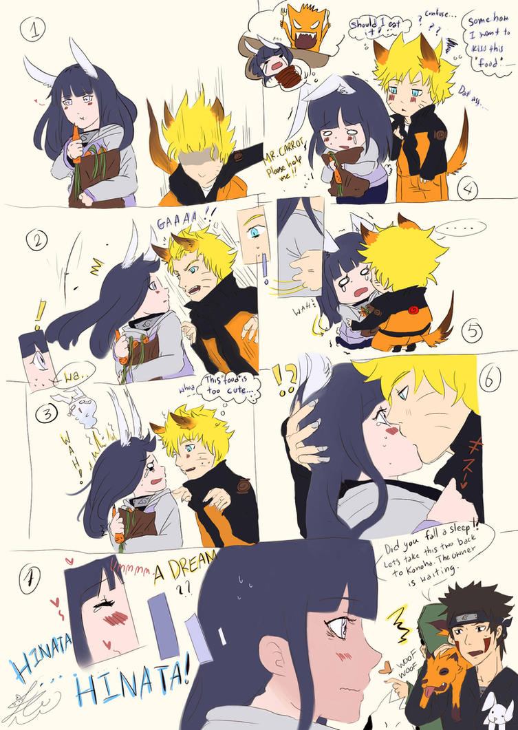 NaruHina: It was a dream by nightto on DeviantArt