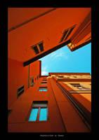 Orange and Cyan by phobyte