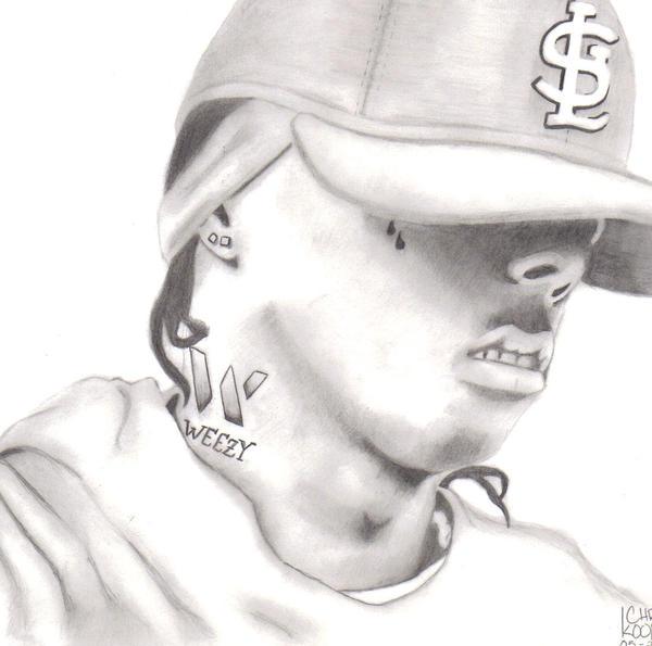 Pencil Drawings Of Lil Wayne lil wayne by flykidof0...