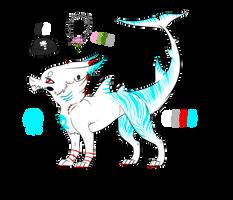 Zelda the sharkdog. by UngodlyIllusions