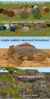 FERALHEART : Free Realistic Rocks by Leda