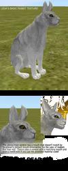 feralheart: leda's rabbit texture! by rookfox